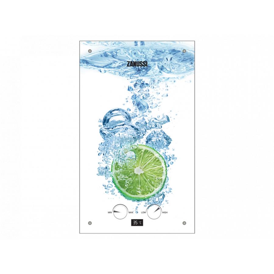 Фотография товара - Газовая колонка Zanussi GWH 10 Fonte Glass Lime