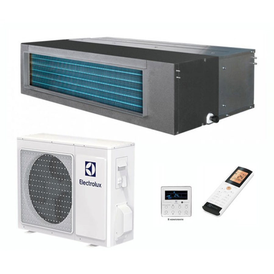 Фотография товара - Сплит-система канального типа Electrolux Unitary Pro 2 DC EACD/I-36H/DC/N3 +  EACO/I-36H/DC/N3