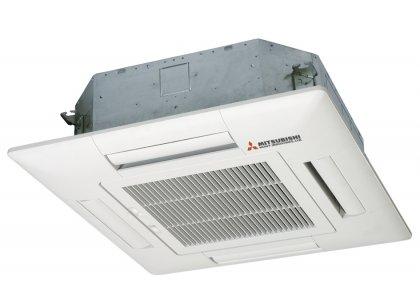 Кассетный кондиционер Mitsubishi FDTC25VF / SRC25ZMX-S