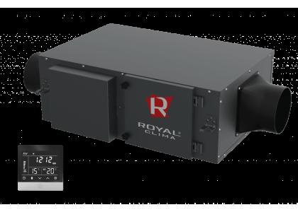 Компактная приточная установка Royal Clima Vento RCV-500 + EH-1700