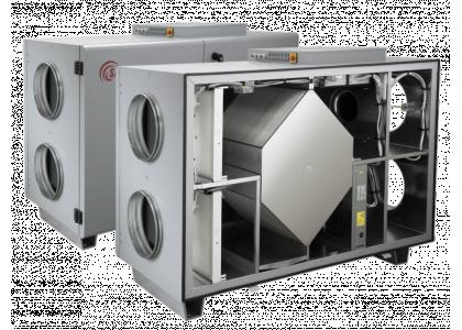 Приточно-вытяжная установка Salda RIS 2500 HWR EKO 3.0