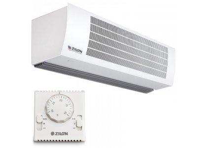Тепловая завеса с водяным нагревом в корпусе из нержавеющей стали Гольфстрим ДЕКОР Zilon ZVV-1W10 2.0