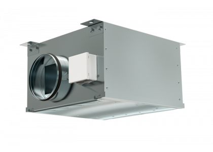 Вентилятор канальный круглый Zilon ZKAM 315  шумоизолированный