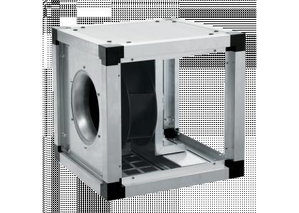 Вентиляторы для квадратных каналов Salda KUB 67-400 EKO в изолированном корпусе