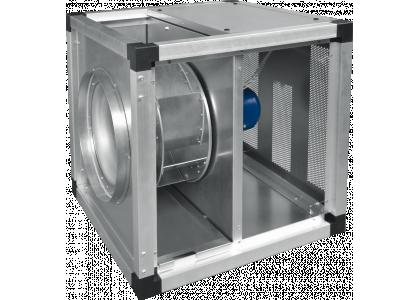 Высокотемпературный канальный вентилятор Salda KUB T120 560-4L3 в изолированном корпусе